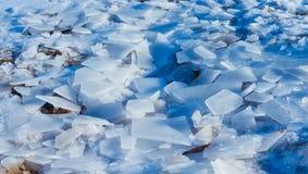 冰和闪烁 库存图片