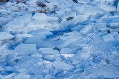 冰和闪烁 免版税库存图片
