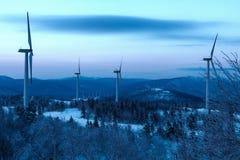 冰和雪世界风景  免版税图库摄影