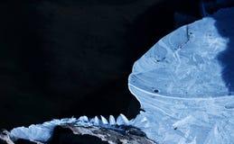 冰和雪世界 免版税库存照片
