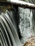 冰和水 图库摄影