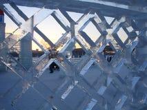 冰城市 免版税库存照片