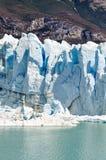 冰墙壁,佩里托莫雷诺冰川,阿根廷 免版税库存照片