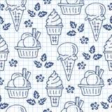 冰奶油20 免版税库存照片