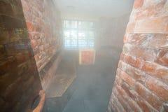 冰室在一家五星旅馆的温泉中心在Kranevo,保加利亚 免版税库存图片