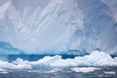 冰山在南极洲 图库摄影