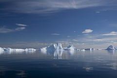 冰山在南极洲 库存照片