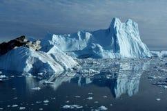 冰山在格陵兰12 免版税库存照片