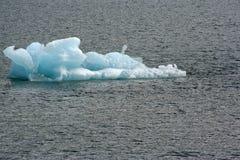 冰山在特雷西胳膊阿拉斯加 免版税库存照片