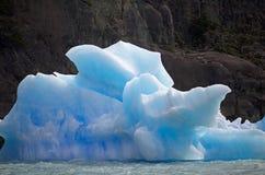 冰山在阿根廷湖,阿根廷 库存图片