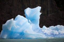 冰山在阿根廷湖,阿根廷 免版税库存照片