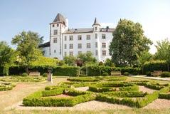 冰山城堡德国宫殿新生saarland 图库摄影