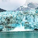 冰山诞生  免版税库存照片