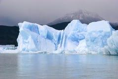 冰山,佩里托莫雷诺 免版税库存图片