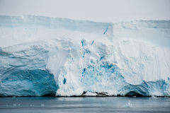 冰山,南极洲的不同的表单 库存图片