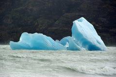 冰山,智利 库存图片
