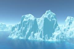 冰山 免版税库存照片