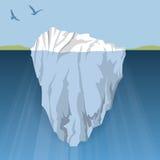 冰山 免版税库存图片