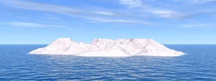 冰山 免版税图库摄影