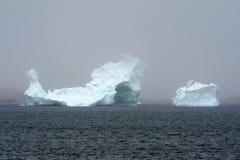 冰山twillingate 库存图片