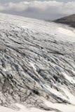 冰岛。东南区域。Skalafelllsjokull冰川。 免版税库存照片