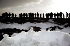 冰岛假日 免版税库存图片