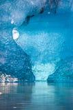 冰岛冰山 免版税库存图片