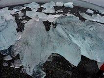 冰岛冰川 库存图片