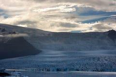 冰岛冰川- Vatnajokull 库存照片