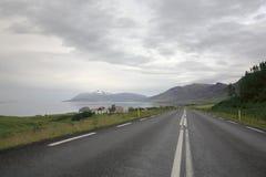 冰岛北环行路 库存图片