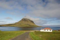 冰岛半岛snaefellsnes 免版税图库摄影