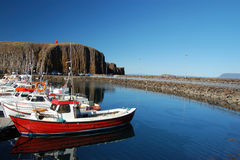冰岛半岛snaefellsnes 图库摄影