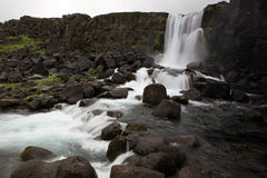 冰岛国家公园pingvellir 库存照片