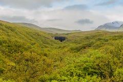 冰岛国家公园skaftafell 免版税库存图片