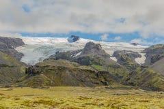 冰岛国家公园skaftafell 库存照片
