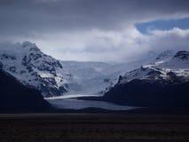 冰岛在冬天 库存图片