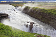 冰岛在夏天 免版税库存照片