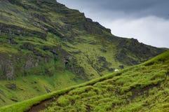 冰岛小山 免版税库存图片