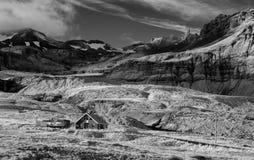 冰岛山场面 库存照片