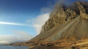 冰岛山 库存图片