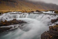 冰岛急流 库存照片