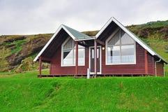 冰岛房子 免版税库存图片