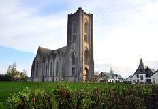 冰岛教会 库存图片