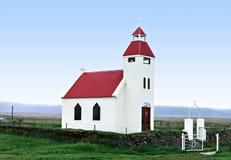 冰岛教会 免版税库存图片