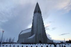 冰岛旅行 免版税库存图片