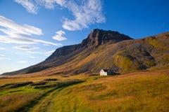 冰岛横向山夏天 免版税库存图片