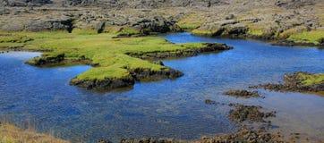冰岛横向 免版税库存照片