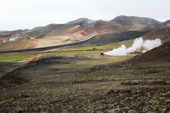 冰岛横向 免版税图库摄影