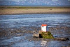 冰岛河Jokulsa Fjollum 免版税图库摄影