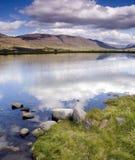 冰岛湖 库存图片